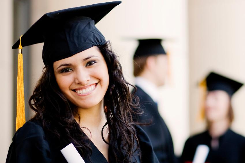 iStock Image of Graduate Girl